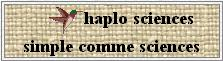 Haplo sciences