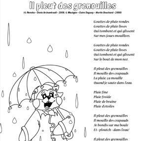 Il pleut des grenouilles-NB