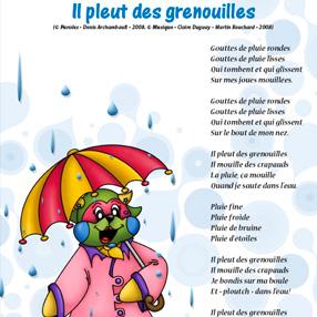Il pleut des grenouilles