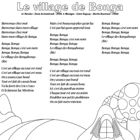 Le village de Bonga-NB
