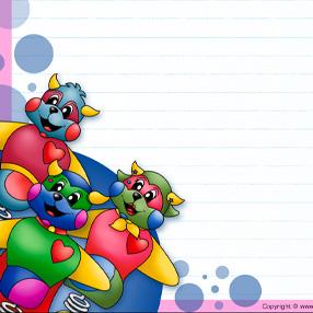 Papier à lettre - Poni et ses amis