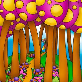 La forêt des Crics Cracs