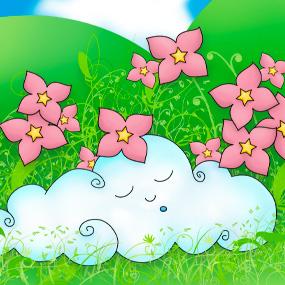 Le nuage endormi