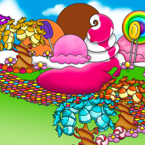 La planète bonbon